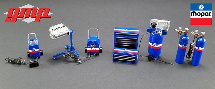 GMP-18918 - 1:18 GMP Shop Tool Set #1 - MOPAR