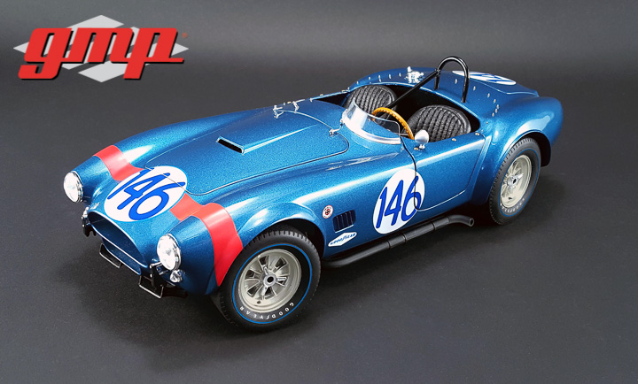 1:12 1964 Shelby Cobra - #146 Dan Gurney and Jerry Grant / 1964 Targa Florio - Class Champion
