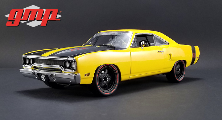 18837 - 1:18 GMP 1970 Plymouth Road Runner Street Fighter 6-Pack Attack