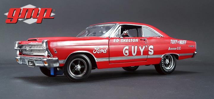 1:18 GMP 1967 Ford Fairlane 427R Lightweight Ed Skelton's TUFF e NUFF