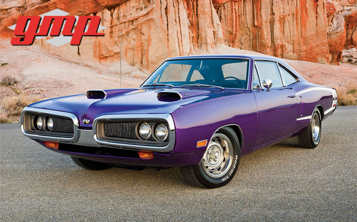 1:18 GMP 1970 Dodge Super Bee - Plum Crazy