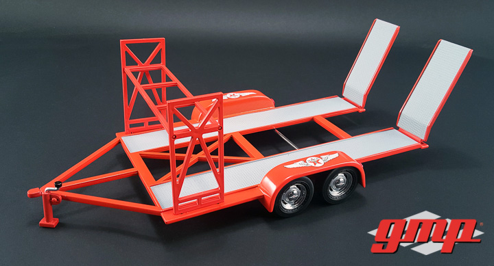 1:18 GMP - 1:18 Tandem Car Trailer - Texaco