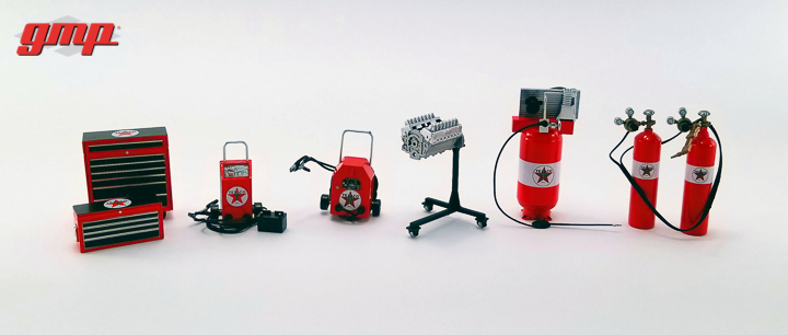 1:18 GMP Shop Tool Set #1 - Texaco
