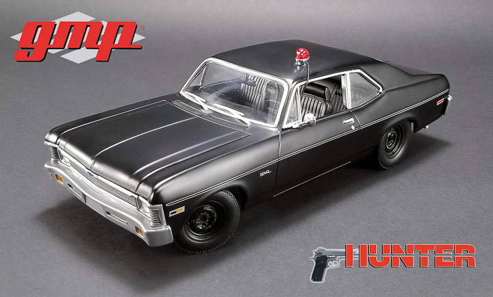 1:18 Hunter (1984-91 TV Series) - 1971 Chevrolet Nova Police